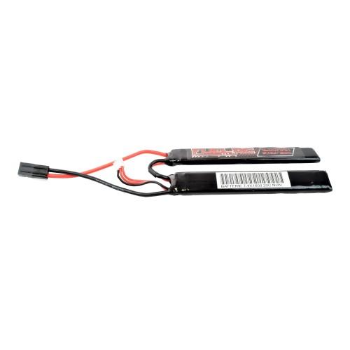 FUEL BATTERIA Li-Po 7.4v x 1600mAh NUNCHUCK  SLIM (FL-7.4X1600N)