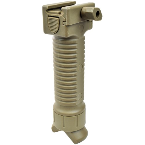 BIG DRAGON GRIP WITH EXTENSIBLE BIPOD TAN (BD-0122)