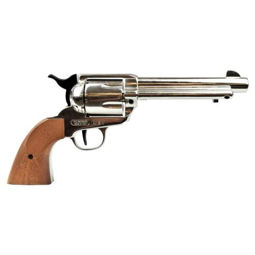 BRUNI GUNS TOP FIRING BLANK PISTOL CALIBER 380 NIKEL (BR-400N)