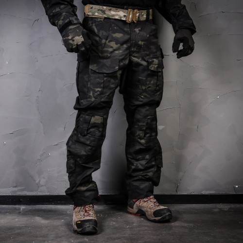 EMERSONGEAR BLUE LABEL PANTALONI TATTICI G3 MULTICAM BLACK TAGLIA XL (EMB9319MCBK-XL)