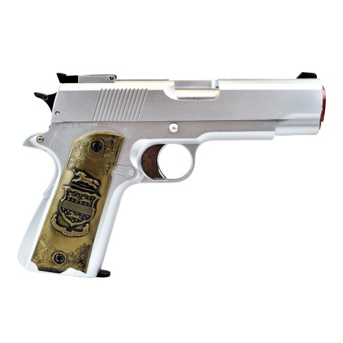 HFC GAS PISTOL SILVER (HG 123S)