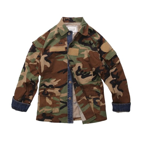 EMERSONGEARS GIACCA BDU VINTAGE STYLE WOODLAND (EMS6870-M)