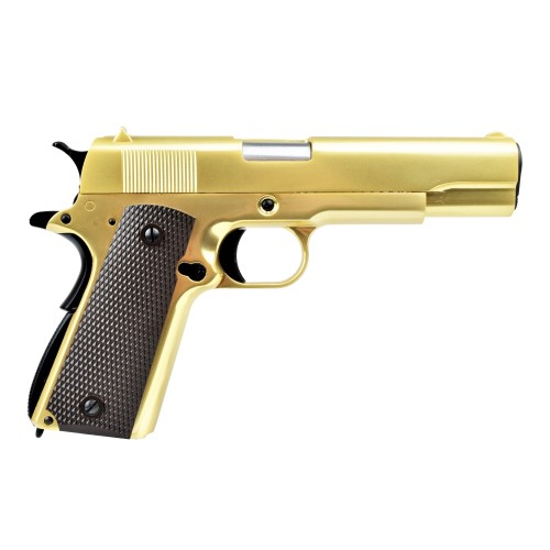 WE GAS GUN 1911 GOLD (W049G)