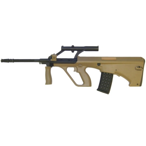 J.G. WORKS ELECTRIC RIFLE AUG MILITARY TAN (F0449AT)