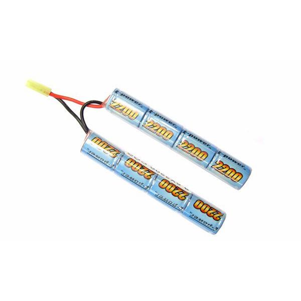 E-TANG POWER NI-MH BATTERY 9.6V X 2200MAH CQB VERSION (9.6X2200CQB)