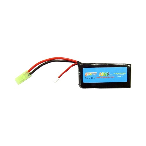 E-TANG POWER BATTERIA LI-PO 7.4V X 1300mAh 25C ACTION (7.4X1300)