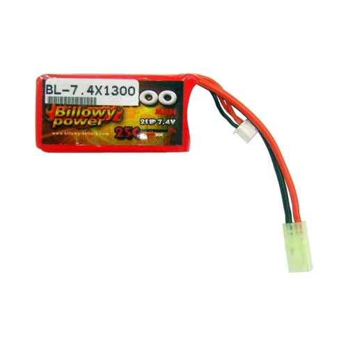 BILLOWY POWER BATTERIA LI-PO 7.4V X 1300MAH 25C (BL-7.4X1300)