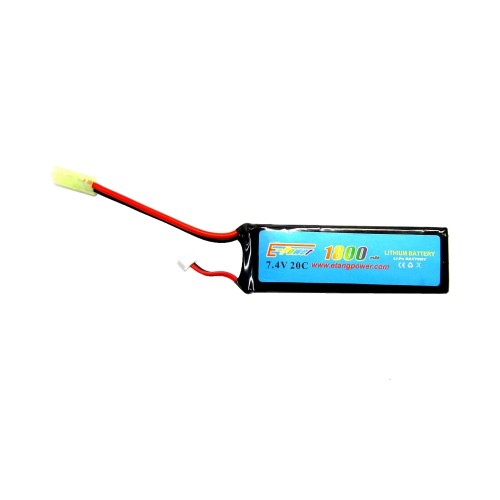 E-TANG POWER LI-PO BATTERY 7.4V X 1800MAH 20C (7.4X1800)