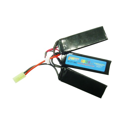 E-TANG POWER LI-PO BATTERY 11.1V X 1800MAH 30C CQB (11.1X1800)