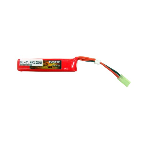 BILLOWY POWER BATTERIA LI-PO 7.4V X 1200MAH 15C (BL-7.4X1200)