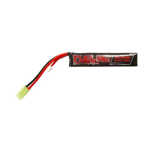 FUEL LI-PO BATTERY 7.4V X 1200MAH 15C (FL-7.4X1200)
