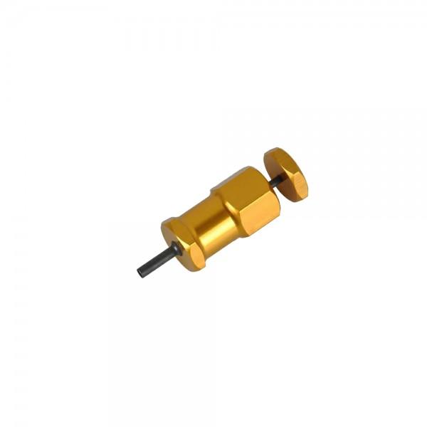 large Plug Ex123 Loyal Element Orange Metal Pin Opener