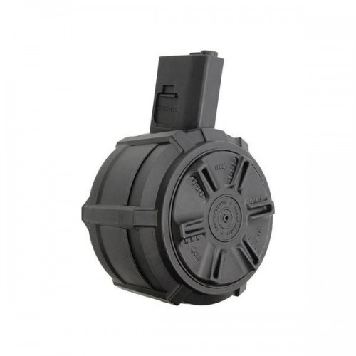 G&G AUTO WINDING DRUM MAG FOR M4/M16 (BATTERY INCLUDED) (G08170)
