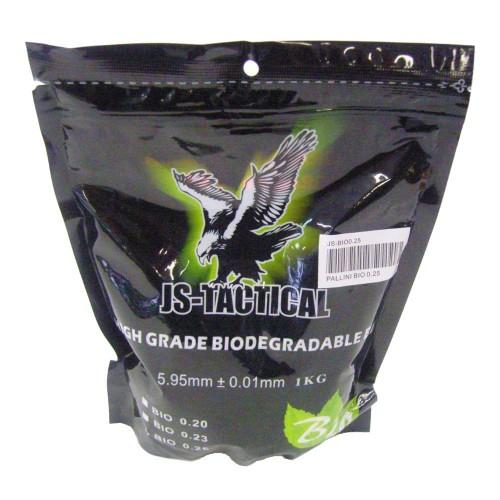 JS-TACTICAL BIODEGRADABLE BALL PELLETS 0.25G WHITE (JS-BIO0.25)